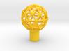"Shift Knob Geodesic 12x1.25 2"" 3d printed"