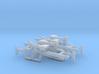 1:18 4x Rifle Reptilian Shock Trooper  3d printed