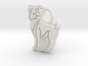 Aries Ram Ring Tag 3d printed
