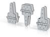 Reefer Hinges 1-20-3 Version-030415 Metal 3d printed
