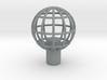 "Shift Knob Globe 12x1.25 2"" 3d printed"