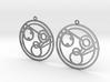 Monica - Earrings - Series 1 3d printed