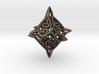 'Center Arc' dice, 10D10 Decader balanced die 3d printed