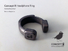 Concept R Headphone Ring 3d printed