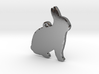 Bunny Necklace Pendant 3d printed
