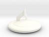 V Mothership Display Base v2 (Models to 1/64) 3d printed