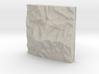 3''/7.5cm Mt. Kinabalu, Malaysia, Sandstone 3d printed