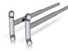 Astromech EMPCA Steel Tongs 3d printed