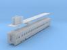 D&H lightweight coach #201 - 206, as built (1/160) 3d printed