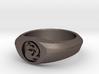 MTG Mountain Mana Ring (Size 15 1/2) 3d printed