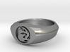 MTG Mountain Mana Ring (Size 8 1/2) 3d printed