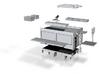 0003-RW1 Aufbau mit Zubehör 3d printed