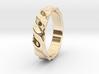 Ocean ring size 5 3d printed
