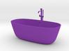 1:12 Badewanne Bathtub 3d printed