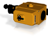 Geodimeter 600 scope 1/4 scale color 3d printed