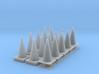 1/64 Cone Set 3d printed