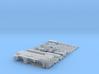 1:87 crane 45to.,3axle - Autokran 45to.,3achs 3d printed