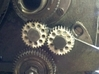 Emco V10 tumber gear 3d printed Gears on the lathe and working well.