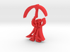 Merry Poppins Clothes Hanger Clip 3d printed