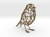 Bird wireframe (thicker wireframe) 3d printed