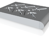 Minecraft icecube tray 3d printed