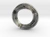 Mobius Ring Pendant v3 *Large* 3d printed