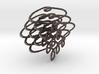 Distorted circles 3d printed