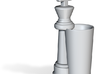 King Chess Piece Shot Glass - 44 mL (1.5 US fl oz) 3d printed