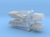 M53 155mm / M55 203mm Howitzer 1/285 6mm 3d printed