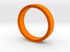 Rhombus holes bracelet 3d printed