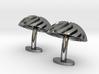 Spiral Cufflinks 3d printed