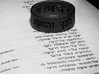 Psalms 37:4 Ring (Size 7 1/2) 3d printed Size 10 Render