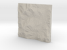 6'' Mt. Washington, NH, USA, Sandstone 3d printed