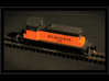 SW1 N Scale 3d printed This is a painted verion of an early prototype of this engine.