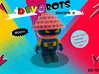 Official DevoBots Series 2 - Designer Desktop Toy 3d printed
