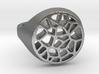 Bague Voronoi en Javascript 3d printed
