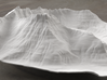 8'' Mt. Wilbur Terrain Model, Montana, USA 3d printed Radiance rendering