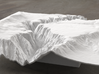8'' Black Canyon of the Gunnison, CO, WSF 3d printed Radiance rendering