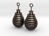 Pear/Teardrop Earrings 3d printed