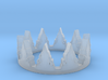 Crown Layer Ring (size 7) 3d printed