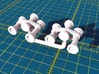 Locomotive 3 Chime Horns Type 3-3  N Scale 3d printed