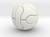 Foosball ball (2.5cm) 3d printed