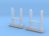 IHC 2-8-0 Replacement Pilot Steps HO 1:87 Shallow 3d printed