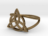 Triquetra Ring (choose size) 3d printed