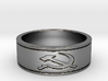 russian Hammer & Sickle  Ring Size 8.25 3d printed
