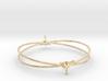 LuckySplash bracelet 3d printed