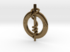 Monogrammed Moses Healing Serpent  3d printed Beautiful, Ancient Healing Symbol