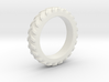 Tractor Tire Ring  3d printed