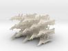 Grumman F-14 Tomcat (25x)(1:400) 3d printed