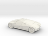 1/87 Ford GT90  3d printed